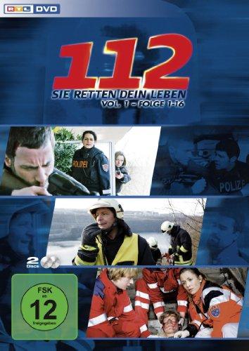112 - Sie retten dein Leben, Vol. 1, Folge 01-16 [2 DVDs] hier kaufen