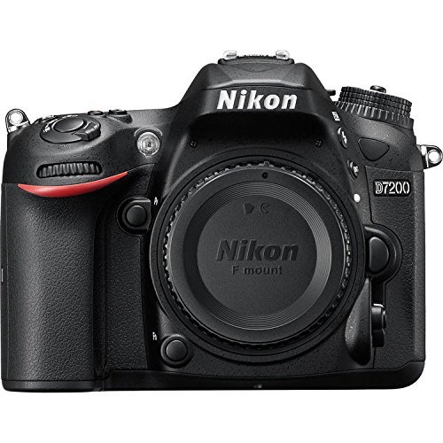 Nikon D7200 DX Format DSLR Body  Black