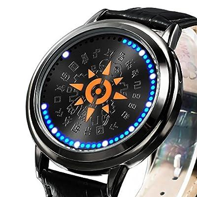 wildforlife Digimon aventura Tri. Taichi escudo de valor táctil LED reloj