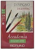 Fabriano Accademi Dess carta da disegno A514,8x 21cm bianco