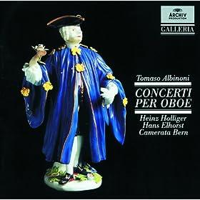 Albinoni: Concerto a 5 in D, Op.7, No.6 for Oboe, Strings and Continuo - 1. Allegro