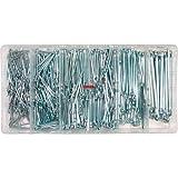 Splinte Stifte Sortimentskasten gerade Ausführung Länge 25 - 64 mm 555-tlg. (im Aufbewahrungsbox / Sortimentsbox)