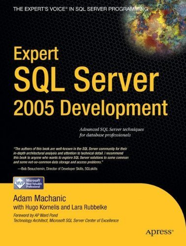 Expert SQL Server 2005 Development by Machanic, Adam, Rubbelke, Lara, Kornelis, Hugo (2007) Paperback