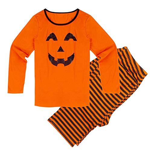 Passende Halloween Mama Kostüm Baby Und - Familien Outfit Mutter Vater Kind Familien Kleidung Set Mama Papa Baby Halloween Kürbis Kostüm Passende Pyjama Set Familie Schlafanzug/XL