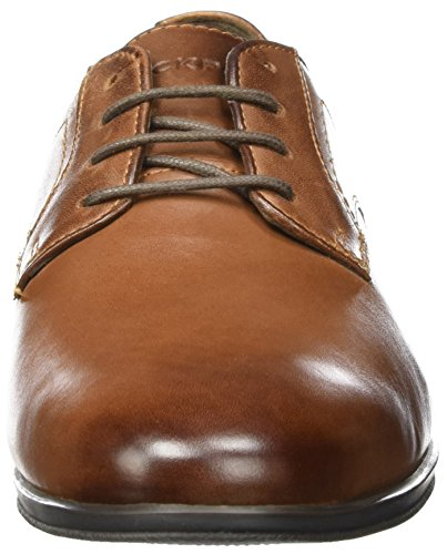 Rockport Style Connected Plaintoe, Bottes homme Marron (cuir marron)