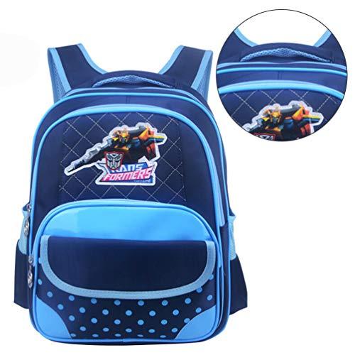 HOCOVER Rucksack für Mädchen und Jungen, Niedlich Langlebig Hohe Qualität Komfortable Schultasche Kids Satchel mit Verstellbarem Gurt - Blau
