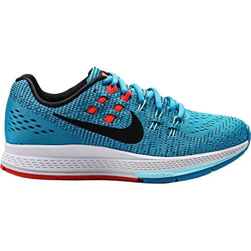 Nike W Air Zoom Structure 19, Chaussures de Sport Femme Blue Lagoon/Black