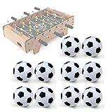 Sky-Welle 10 Stk.31mm Tischfußball Mini Fußball Ersatzbälle für Tischkicker Ersatz Bälle