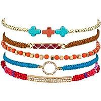LUX accessori perle pavé Bar cravatta circolare