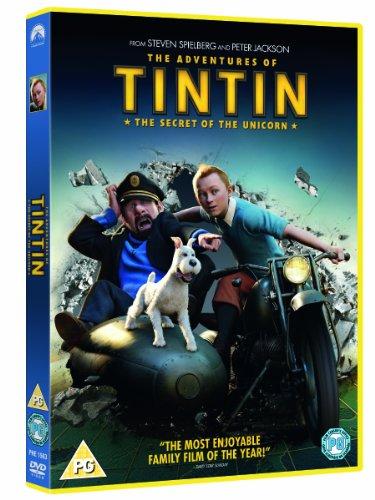Tintin - Secret Of The Unicorn [DVD]