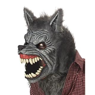 California Costumes Werewolf Ani-Motion Mask Halloween Accessory Adult