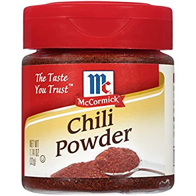McCormick Chili Powder (522111) 32.3 grams from McCormick