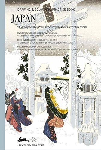 Japan: Drawing & Colouring Practise Book por Pepin Van Roojen
