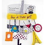 Tery Baby Kleinkind Spielzeug Kinderbett Spielzeug Eule Regenschirm Auto Baby Musik Drehbank Hänge Bett Um Kinderwagen Spielzeug (Multicolor)