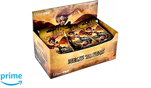 Full Display Box 86781 Ultra Pro Magic  The Gathering Eternal Collection Relic Tokens 24 packs