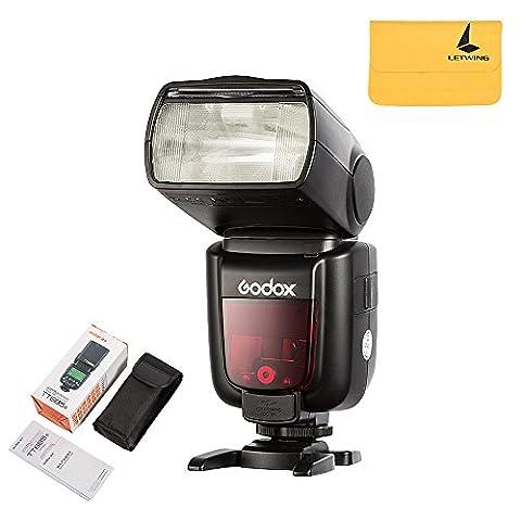 Godox Caméra Flash Speedlite TT685S TTL HSS 1/8000s GN60 pour Sony DSLR Caméras A77II, A7RII, A7R, A58, A99, ILCE 6000L