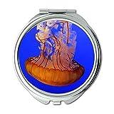Yanteng Spiegel, Reise-Spiegel, Tierquallen Ozean, Taschenspiegel, tragbarer Spiegel