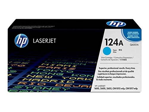Preisvergleich Produktbild HP - Hewlett Packard Color LaserJet 1600 (124A / Q 6001 A) - original - Toner cyan - 2.000 Seiten