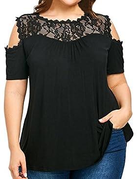 Blusas Para Mujer Rawdah Blusa Y Falda Mujer Elegante Talla Grande Para Mujer De La Moda Blusa Sin Tirantes Hombro...