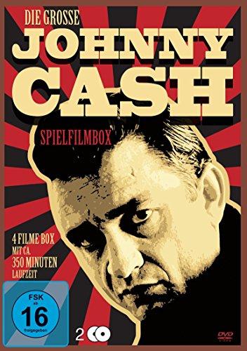 Die große Johnny Cash Spielfilmbox [2 DVDs] Preisvergleich