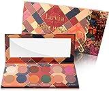 Luvia Lidschatten-Palette - Matte Mosaic Make-Up - Inkl. 12 einzigartigen matten Farben - Limitierte Geschenkbox zu Weihnachten