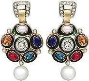 Zaveri Pearls Beautiful Colorful Boutique Earring For Women -ZPFK630