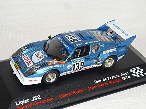 Preisvergleich Produktbild Ligier Js2 Js 2 1974 Larrouse Rives Nicolas Rally 1/43 Altaya By ixo Modellauto Modell Auto SondeRangebot