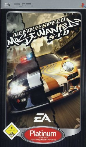 Psp Rennspiele (Need for Speed - Most Wanted 5-1-0 [Platinum])