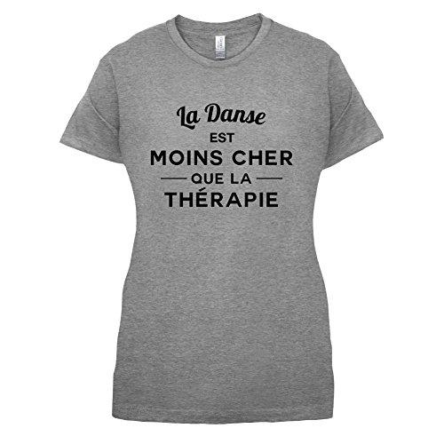 La danse est moins cher que la thérapie - Femme T-Shirt - 14 couleur Gris