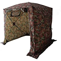 Goutime Pavilions,Campingzelt Klappzelte AktivitäTen Zelte,2×2M Wasserdicht Pop-Up-Zelt, (Tarnung Farbe)