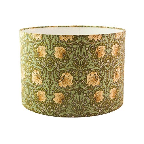 william-morris-pimpernel-fabric-handmade-drum-lampshade