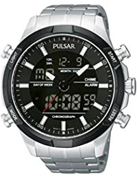 Pulsar Watches Gents Sport Chronograph Watch With Ana-Digi Dial