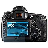 3 x atFoliX Film Protection d'écran Canon EOS 5D Mark IV Protecteur d'écran - FX-Clear ultra claire