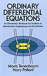 Ordinary Differential Equations (Dover Books on Mathematics) by Morris Tenenbaum (1985-10-01)