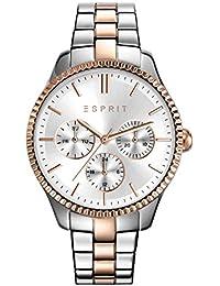 Esprit Damen-Armbanduhr TP10894 Two Tone Rose Gold Analog Quarz Edelstahl beschichtet ES108942005