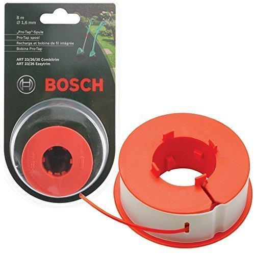Original Bosch KUNST 23 26 30 COMBITRIM EASYTRIM Motorsense / Gras Trimmer Pro-Tap Automatisch Spule Schnur (8m, F016800175)