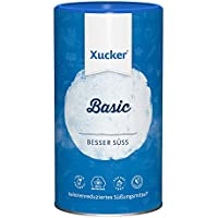 Xucker Basic 1kg kalorienreduzierte natürliche Zuckeralternative - Xylit aus Frankreich - vegan, glutenfrei, nachhaltig und zahnfreundlich