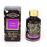Diamine Shimmer Shimmertastic Ink,Purple Pazzazz,Tinte,Schreibtinte im Tintenglas,50 ml