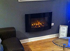 2018 Truflame 7 Colour Changing Led Wall Mounted Log Effect Electric Fire