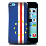 Coque de Stuff4 / Coque pour Apple iPhone 5C / Cap-Vert Design / Drapeau Africain Collection
