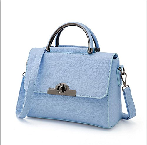 GBT Neue Tendenz-Damen-Handtaschen-Schulter-Beutel Light Blue