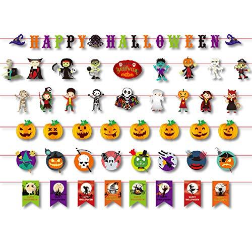 7 STÜCKE Halloween Banner Mode Verschiedene Dekorative Party Banner Hängen Banner