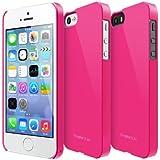 Ringke Slim für iPhone 5 / 5S Hülle Tasche (Besser Griff Technik & Schlank Schutz Hülle Machart), LF Pink-rosa