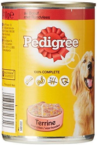 pedigree-terrine-pour-chien-au-boeuf-boite-de-410g-lot-de-24