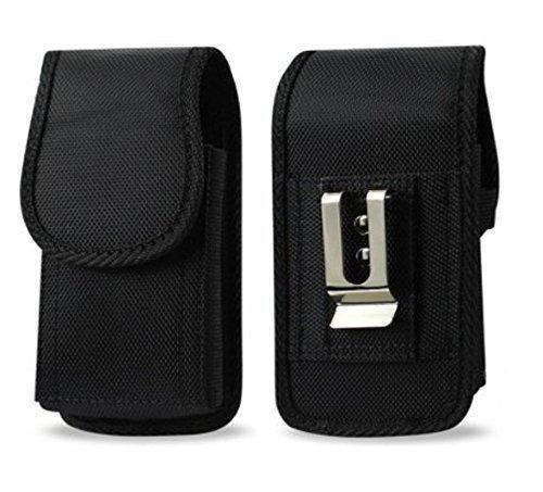 Golden Sheeps Tragetasche, kompatibel mit Zebra TC51 TC56 Handheld Barcode Scanner Touch Mobile Computer robuste robuste robuste Schutzhülle mit Metallclip und Gürtelschlaufe Touch Mobile