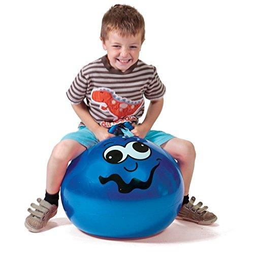 Kinder Junior Schlauchboot Aufblasbar Außen Garten Spiel Blau Hüpfend