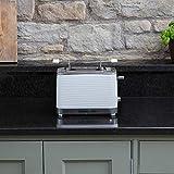 Russell Hobbs 24370-56 Toaster Inspire White, Lift and Look Funktion, bis zu 6 einstellbare Bräunungsstufen, extra breite Toastschlitze, Brötchenaufsatz, weiss - 7