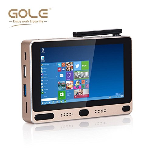 GOLE1 Windows 10 & Android5.1 Intel quad core 4GB + 64GB 5inch 1280X720 all in one mini tablet PC