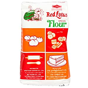 United Flour Mills Red Lotus Flour - 1 Kg [Specially For Steamed Buns, Cakes, Cookies & Biscuits]