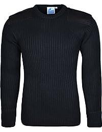 Castle Clothing - Pull - Homme Noir Noir